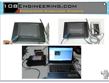 HMI PLC Mitsubishi Tester